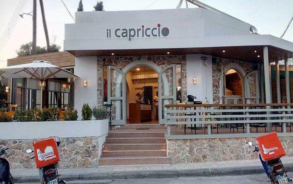 Εστιατόριο Πιτσαρία Κέρκυρα IL Capriccio 2