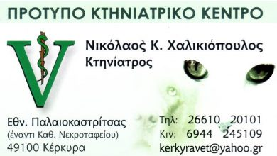 Photo of Κτηνίατρος, Κέρκυρα, Νικόλαος Χαλικιόπουλος
