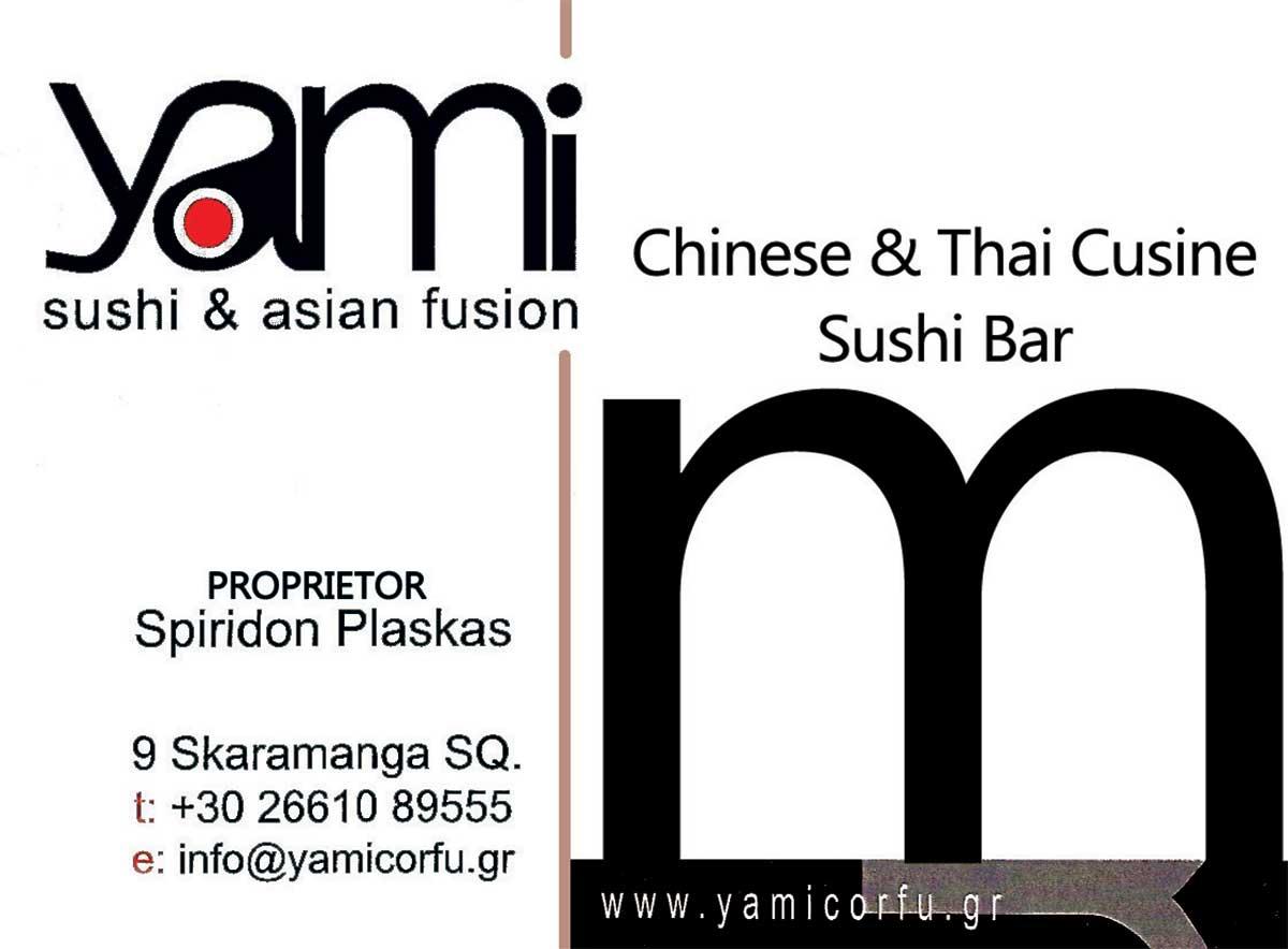 Chinese & Thai Cuisine Sushi Bar, Κέρκυρα, Yami