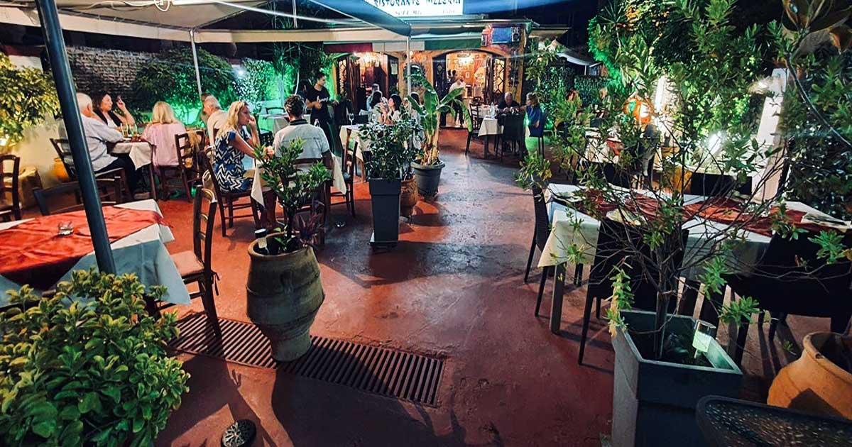 Ιταλικό εστιατόριο Πιτσαρία Κέρκυρα O Sole Mio 1
