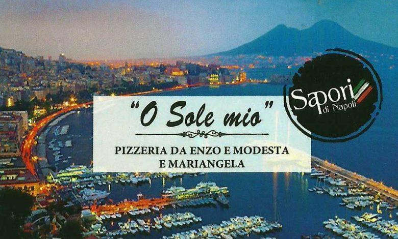 Ιταλικό εστιατόριο Πιτσαρία Κέρκυρα O Sole Mio